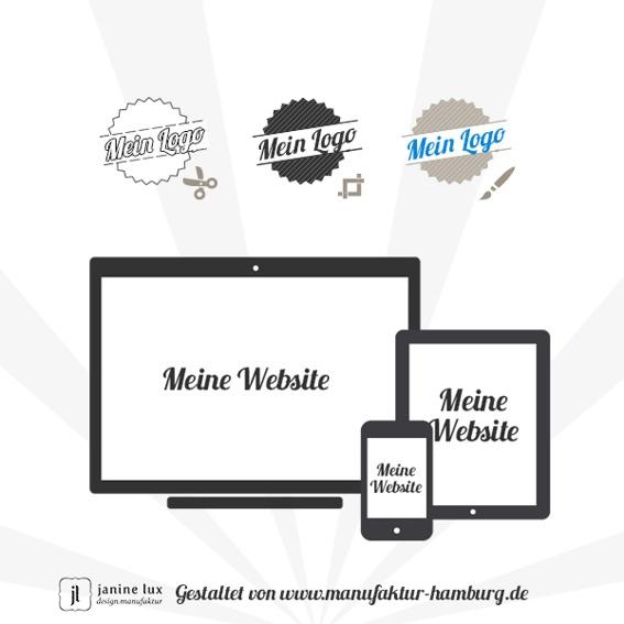 Deine Unternehmensdarstellung - Logogestaltung oder Website