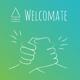 Einzigartige Urkunde, signiert vom ganzen Welcomate-Team