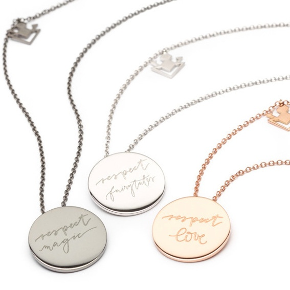 """THE COLLECTOR BEE - Vieri """"Respect the beautiful"""" Necklace"""