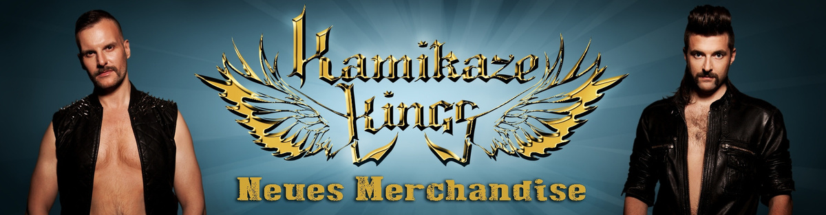 Kamikaze Kings - Neues Merchandise