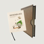 1x Bienenblues im Holzschuber
