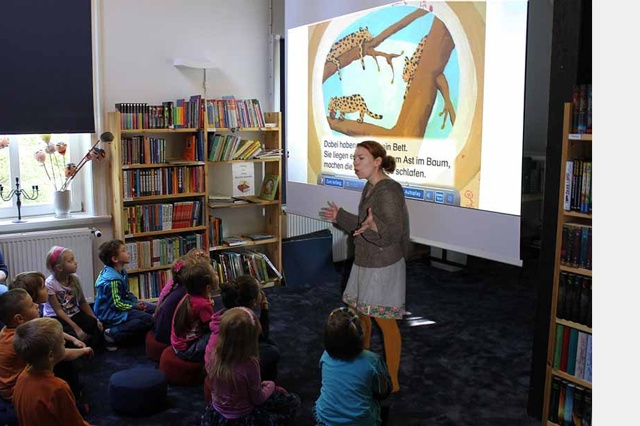 KIKU Kinderkulturhaus: Power für den Leseclub