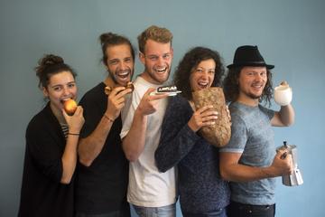 Raupe Immersatt - das Foodsharing Café