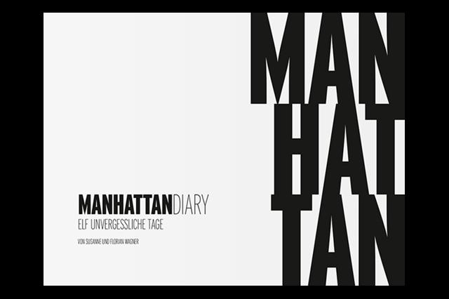 Manhattan Diary – ein Reisebuch mit 400 künstlerischen Polaroids