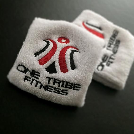 """1-Paar Schweißbänder """"One Tribe Fitness"""""""
