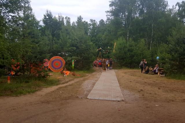 Inklusion auf dem Zurück zu den Wurzeln Festival