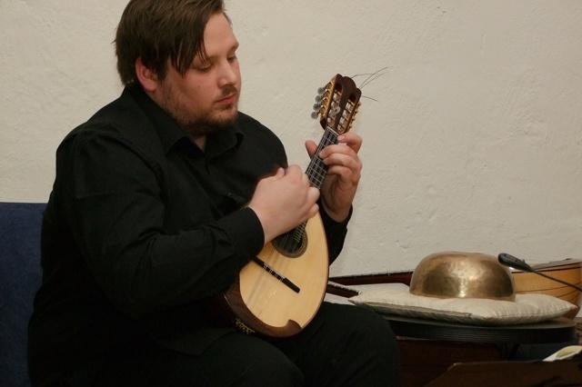 Die Mandoline und Bach