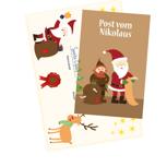 Post vom Nikolaus mit Wachssiegel und Urkunde