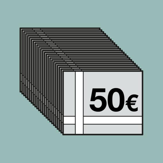 1000 EUR für 1200 EUR-Gutscheinheft