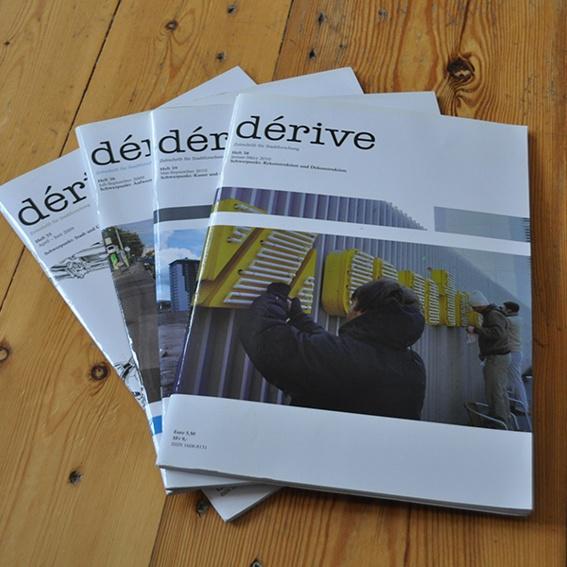 Jahresabo dérive - Zeitschrift für Stadtforschung