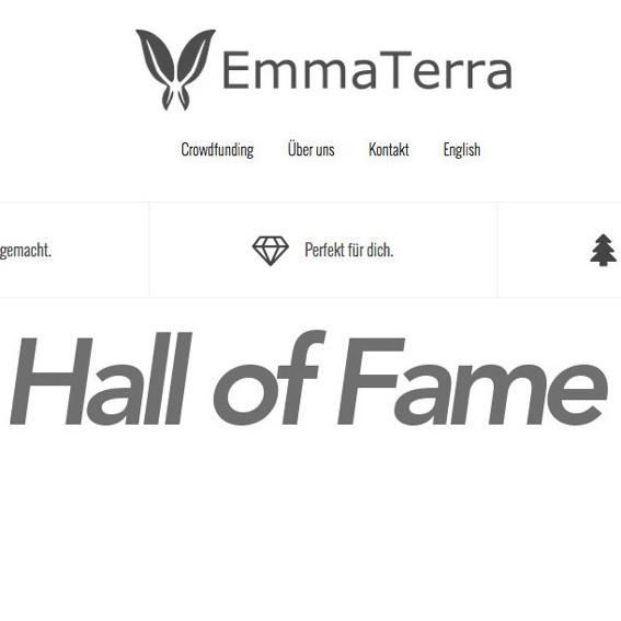 Dein Vorname in der Hall of Fame