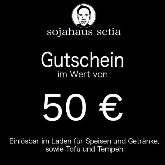 Gutschein für Sojahaus Setia