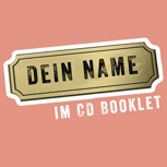 Nennung im CD-Booklet + CD