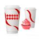 Kaffeeflat + Becher