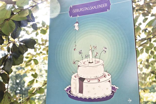 Geburtstagskalender - der volle Durchblick