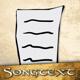 Ein handgeschriebener Songtext deiner Wahl