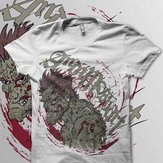 T-Shirt Artwork für deine Band