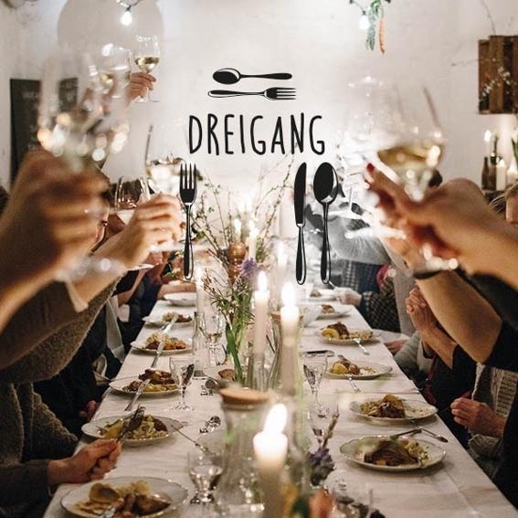 Dinieren mit dem DREIGANG Supper Club