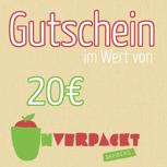 20,00€ Einkaufsgutschein