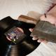 Vinyl, von Mowgli mit Blut signiert