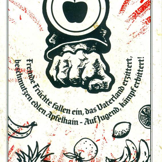 Propaganda-Paket - 5x Apfelfront-Demo-Flyer