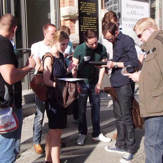 iPadRallye durch Berlin