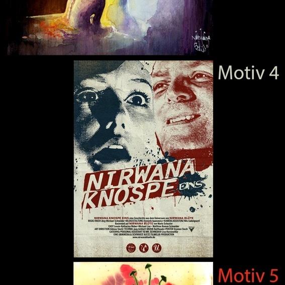 Nirwana Blüte Original Artwork Poster