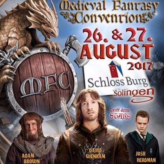 Conventiontag mit der Figurenwerkstatt (Medieval Convention in Schloß Burg)