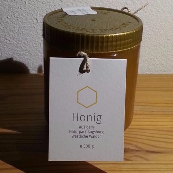 6 Gläser Honig