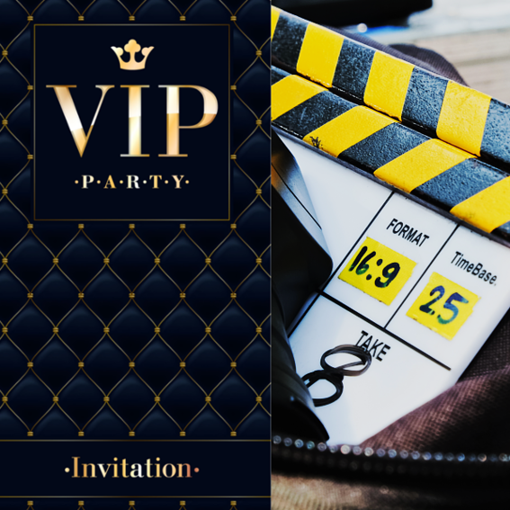 A Day on Set & VIP Premiere/After Party Pass