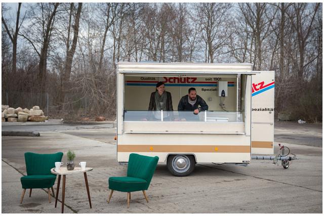 HEIMATmobil - Imbiss-Stand von Menschen mit geistiger Behinderung