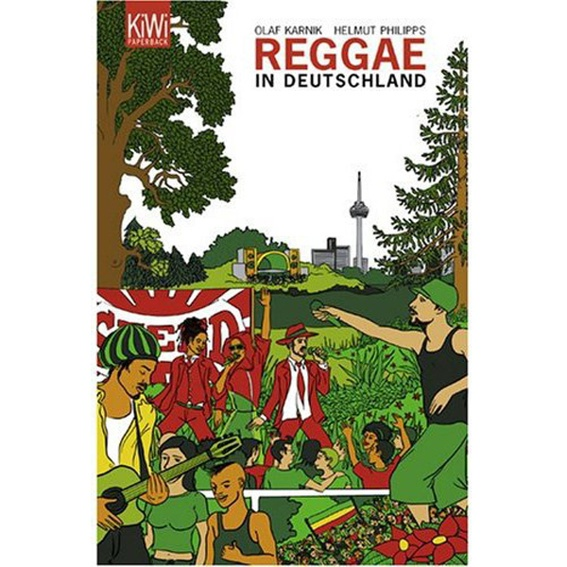 Reggae in Deutschland - the signed book