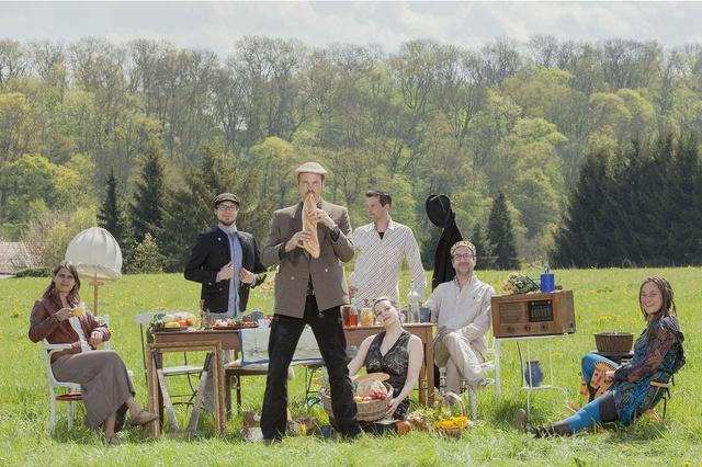 Sammant - Alte Lieder, neue deutsche Weltmusik - Debutalbum