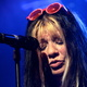 """Anca's rote """"Glitter-Sonnenbrille"""" des DVD-Konzerts"""