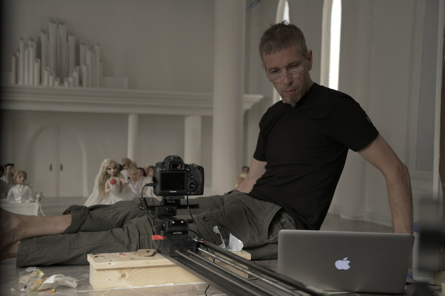Stop-motion animation Own Drum