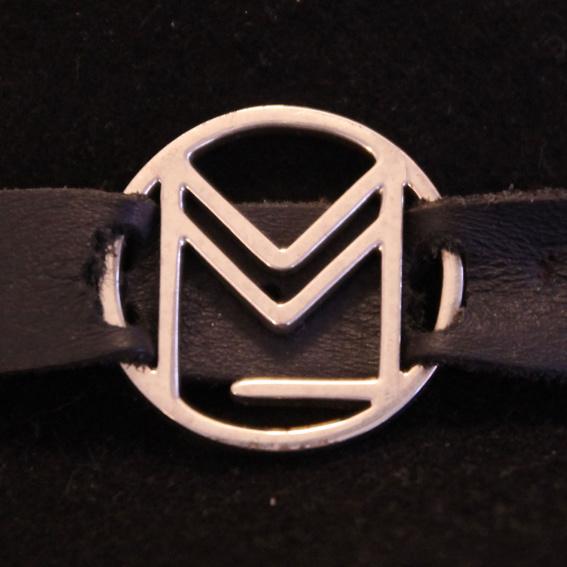 Silbernes Logo – das  Band-Logo in Sterlingsilber
