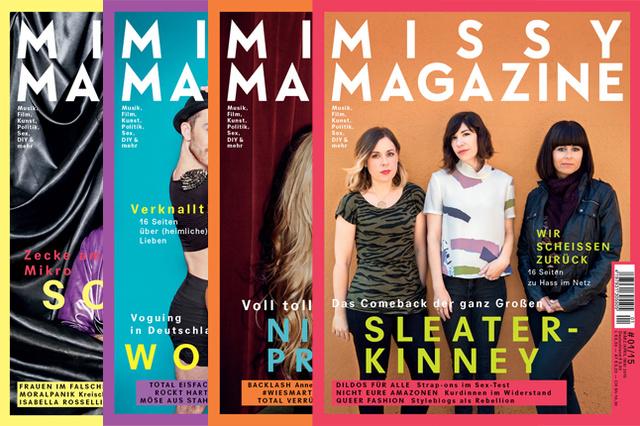 Mehr Missy – mehr Online, mehr Heft, mehr Veranstaltungen