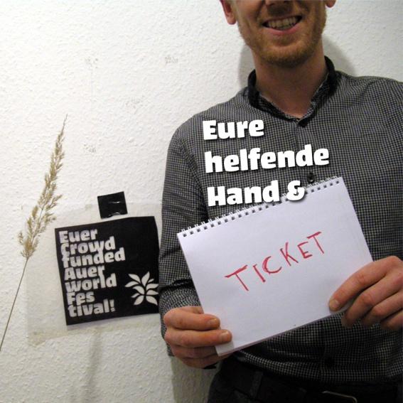 Ticket und Eure helfende Hand