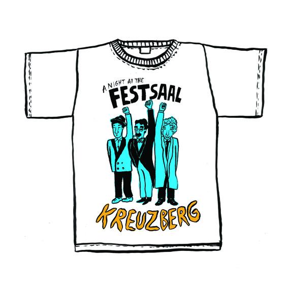 Festsaal Shirt! Exklusives Herman Dune Design! + Updates (Versand)