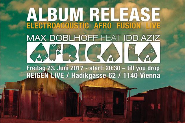 AFRICA LA - Album Release, Produktion & Live Show