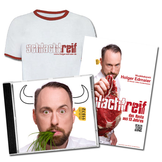 Big Package! Männer T-Shirt, CD, Plakat