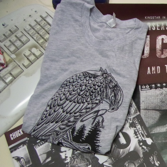 Chuck Ragan T-shirt signiert