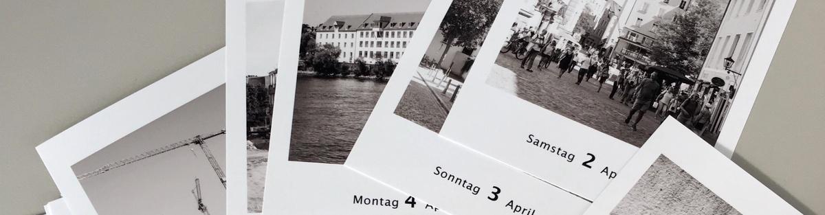 "Tageskalender ""Gesichter Regensburgs"""