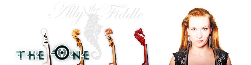 """Ally the Fiddle - """"THE ONE"""", das progressive violin metal album"""