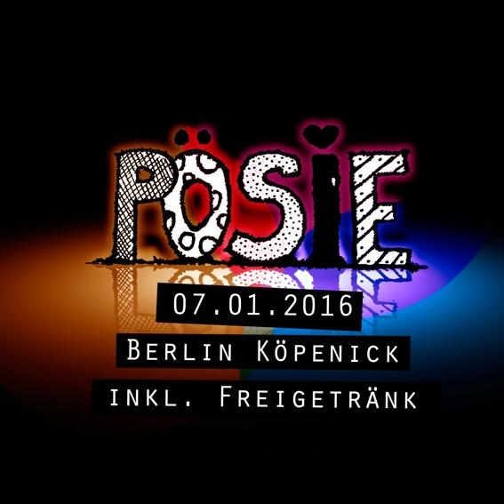 """Ticket - nur für Erwachsene! """"PÖSIE - best of alltagslyrik""""."""