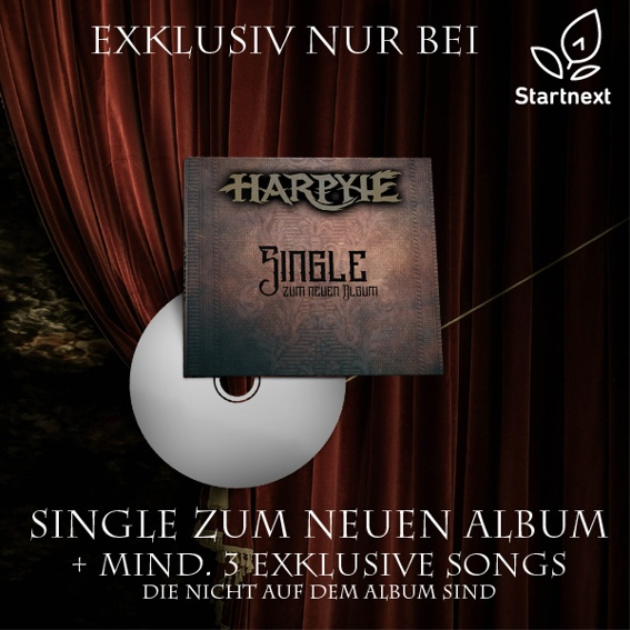 LIMITED EDITION Single Exklusiv nur bei Startnext