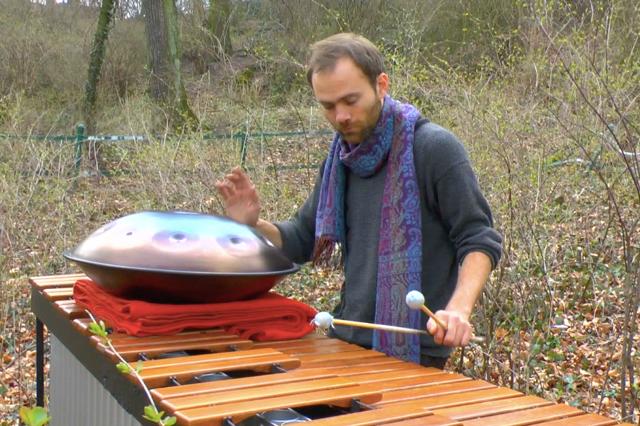 Neues Solo Album Marimba, Pantam, Stimme