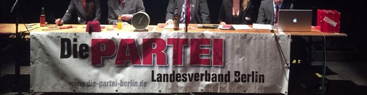 PARTEI-Wahlkampf Berlin 2016