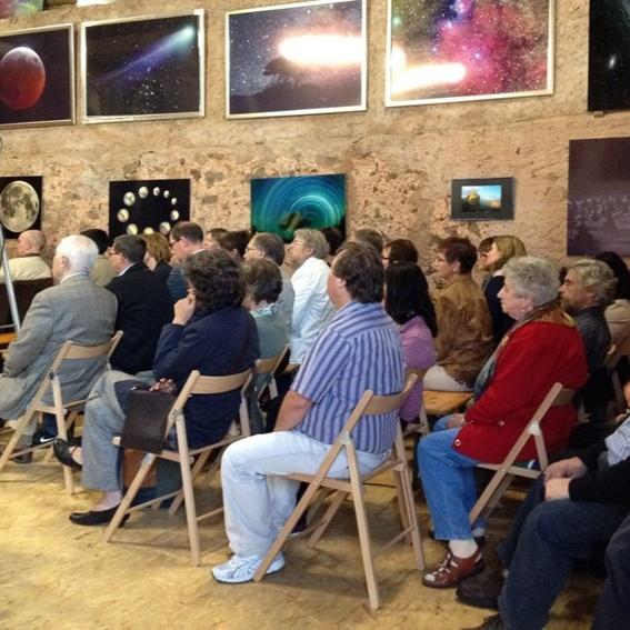 Gruppenführung durch das Weltraum-Atelier + Film-Vortrag