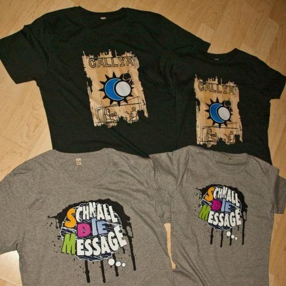 Schnall die Message - Shirt